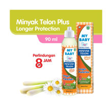 My Baby Minyak Telon Plus Longer Protection 90ml