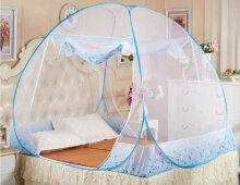 RADYSA Kelambu Tidur Butterfly 180x200 Canopy Summer Blue Blue Others