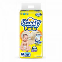 Sweety Popok Bayi Bronze Pants - M 34+4