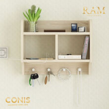 Conis Hanging Rack - Sonoma Oak - RAM Homefurniture