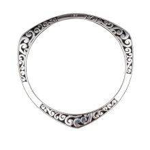 [OUTAD] YDH Women's Elegant Fashion Simple Bracelet Jewelry Gift Anniversary Gift Silver