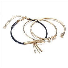 [OUTAD] Simple And Lovely Women's Leaf Bracelet Gold