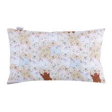 JOYLIVING Cushion Rectangular Sleepy Cat 30x50cm - Pink