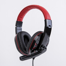 Vinmori CY-519 Wired Gaming Headset Deep Bass Game Earphone Computer Headphones Gaming With Microphone Black