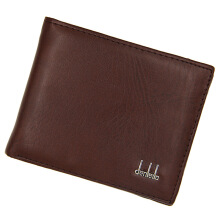 Jantens Men wallet new short fashion business wallet thin section imitation leather large capacity wallet