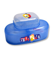 LustyBunny Baby Powder Case + Soap Case - Blue TB 1555