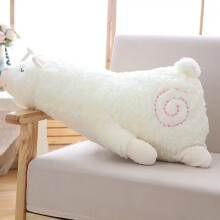 Jantens 45cm plush toy padded lying alpaca doll doll fur animal toy kawaii children gift