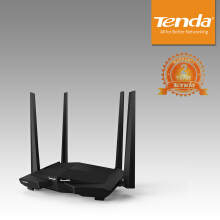 Tenda AC10U - AC1200 MU-MIMO Smart Dual-Band Gigabit WiFi - Black