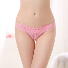 SESIBI Woman Charms Panties Girl Temperament Lingerie Female Interest Openning T Thongs Lady Underwear One Size -