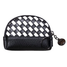 [COZIME] Mini Coin Purse Women Handmade Wallet Card Holder Portable Money Handbags White Black