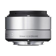 SIGMA 30mm f/2.8 DN | A For SONY E-Mount Silver