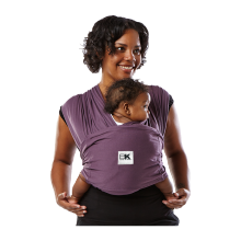 BABY K'TAN Carrier Original Eggplant