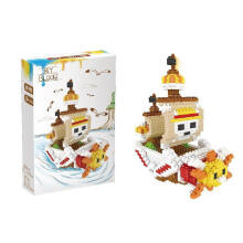 Lele Bricks 6228 One Piece Ship Brown