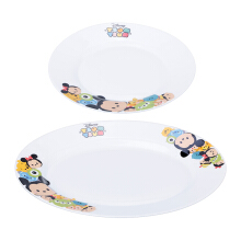KIMI Disney Opal Plate  Tsum Tsum Colour Edition Set of 2 - GMC2182