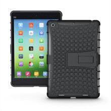 RockWolf Xiaomi MiPad 2/Mipad 3 case TPU tire pattern back clip bracket flat case