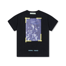 Off White Diag Caravaggio Tee SS - Black
