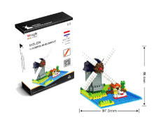 Bricks Weagle 2281 Molen Ned Grey