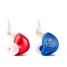 TFZ King Pro HiFi In Ear Monitor Earphone with Detachable Cable - Mix Red Blue