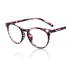 Jantens Brand design sexy glasses frame women flat mirror computer glasses frame Purple