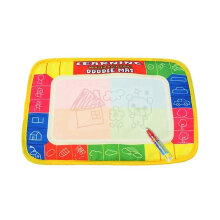 [TOWER PRO] 29X19cm Children Painting Mat Polyester Water Drawing Board Kids Writing Mat multicolor