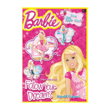 Barbie: Kejarlah Mimpimu (Barbie: Follow Your Dreams) - Mattel -  9786020303734