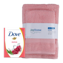 JD.ID Paket Special Bath Woven dan Body Wash Revive Refill - Pink