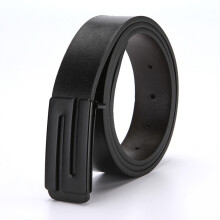 Dandali Original imported Wild young smooth buckle men's belt