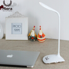 Hiera Lampu Belajar Portable LED Rechargeable White