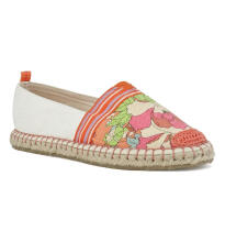 Sakroots Ella Colorblock Slip On Apricot Flower Power Multicolor 9.5
