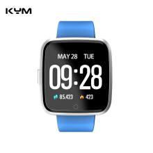 KYM Y7 Smart Watch With Heart Rate Blood Pressure Blood Oxygen Monitor Pedometer Sports Fitness bracelet Smartwatch
