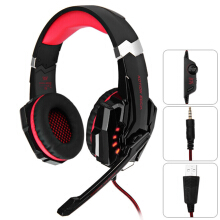 KOTION EACH G9000 Gaming Headphone 3.5mm Game Headset Headphone for PS4 with Mic LED Light Black