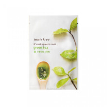 INNISFREE It's Real Squeeze Mask #Green Tea