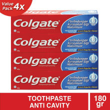 COLGATE Great Regular Flavour 4pcs x 180g