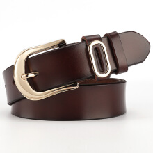SiYing Korean version of wild pure leather pin buckle belt