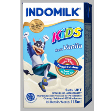 INDOMILK  UHT Vanilla Carton 115 ml x 40 pcs