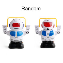 [COZIME] Skipping robot electric light music children's educational toys Other