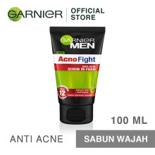 GARNIER Men Acno Fight Anti Acne Scrub In Foam 100ml