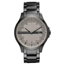 Armani Exchange AX2194 Men Light Grey Dial Black Stainless Steel Strap [AX2194]