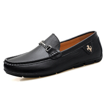 Zanzea Men Soft Cow Leather Large Size Casual Shoes