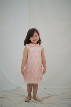 LULLA Bubbles Dress - Dusty Pink