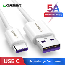 UGREEN Type-C USB C Cable 5A SuperCharge USB Type C to USB A Charging Cable Cord Fast Charger