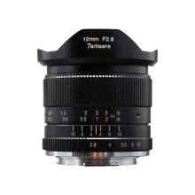 7ARTISANS 12mm f/2.8 for Fuji Black
