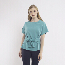 KORZ Textured T-Shirt With Knot