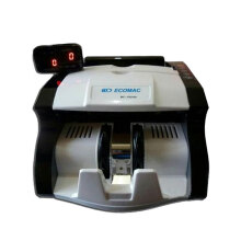 Ecomac MC-100VM Money Counter - Black