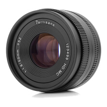 7artisans 50mm F1.8 Manual Focus Prime Lens for Fuji​ Black