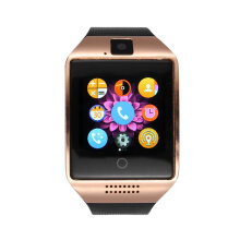 [kingstore] Q18 Smart Watch Card Slot Call Synchronized For Android Bluetooth Phone Black