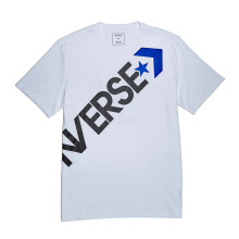 CONVERSE Cross Body Tee - White