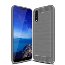 RockWolf Huawei P20 case Brushed Silicone Anti-fall Soft Shell