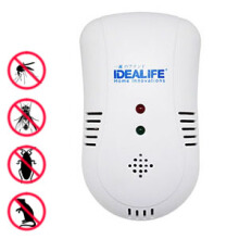 IDEALIFE - Pest Control – 4in1 Frequency Technology, Plug & Use – Pengendali Hama 4 in 1 - IL–300