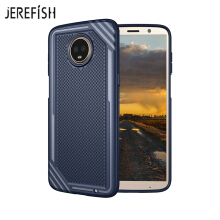 JEREFISH Moto Z3 Play Shockproof Phone Case Rugged Hybrid Hard PC Soft Silicone Full Body Protective Phone Cover